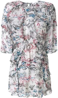 IRO Reorie printed dress
