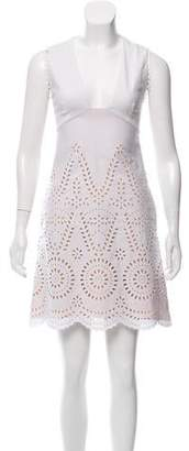 Stella McCartney Sleeveless Eyelet Dress w/ Tags