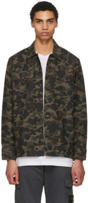 Levi's Levis Multicolor Camo Military Jacket