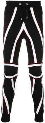 Balmain Union Jack track pants
