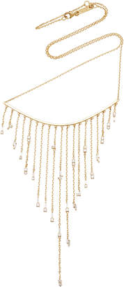 Suzanne Kalan Fringe 18K Gold Diamond Necklace