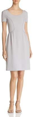 Emporio Armani Paneled Ruched Dress