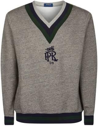 Polo Ralph Lauren Crest Embroidered Sweatshirt