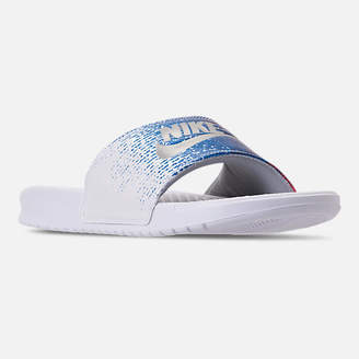 Nike Men's Benassi USA Slide Sandals