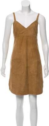See by Chloe Mini Leather Dress