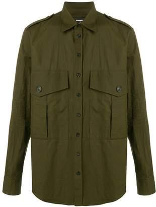 DSQUARED2 military shirt