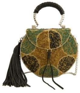 Sam Edelman Aria Iron Boxed Mini Handbag