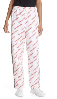 Opening Ceremony Print Nylon Warm-Up Pants