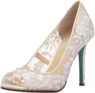 Betsey Johnson Blue Women's SB-Adley Dress Pump