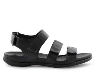 Ecco Womens Black Sandal - Black