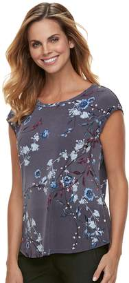 Elle Women's Printed Crepe Top