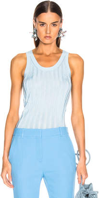 Acne Studios Katrina Tank Top in Blue & Aqua | FWRD