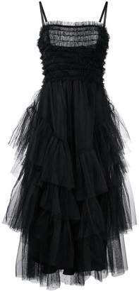 RED Valentino tiered tulle midi skirt