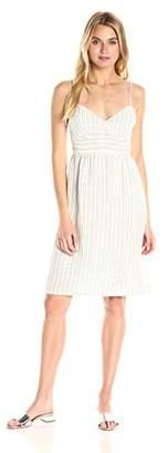 Theory Women's melaena B Narrow Stripe Dress