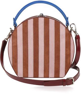 Bertoni1949 Suede Stripes Bertoncina Bag