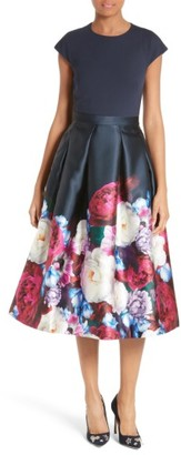 Women's Ted Baker London Valkia Blushing Bouquet Fit & Flare Dress $549 thestylecure.com