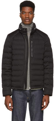 Parajumpers Black Down Sleek Puffer Orson Jacket