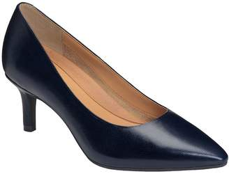 Aerosoles Heel Rest Leather Dress Pumps - DramaClub