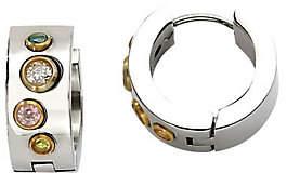 Steel by Design Stainless Steel Goldtone Hoop Earrings