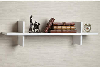 "Wrought Studio Thatcham Decorative ""H"" Shaped Floating shelf"