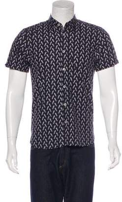 Ted Baker Pineapple Print Shirt w/ Tags