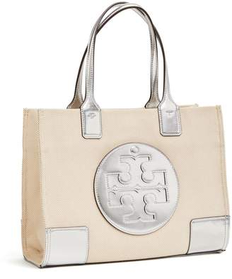 Tory Burch ELLA METALLIC CANVAS MINI TOTE