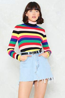 Nasty Gal Vivid Dream Turtleneck Sweater