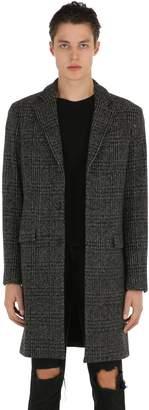 AllSaints Dowell Wool Tweed Coat