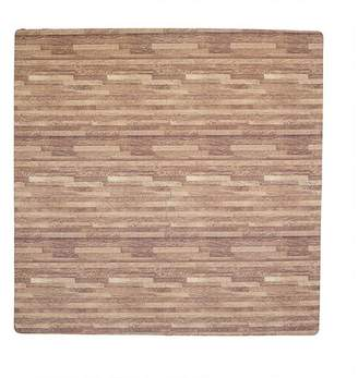 Tadpoles 4 Piece Wood Grain Playmat