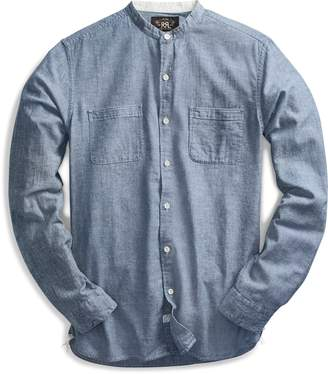 Ralph Lauren Chambray Band-Collar Shirt