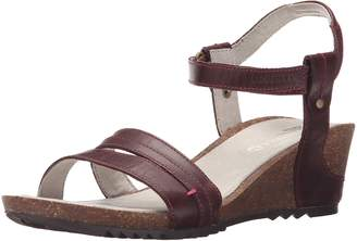 Merrell Women's Revalli Aura Strap Wedge Sandal