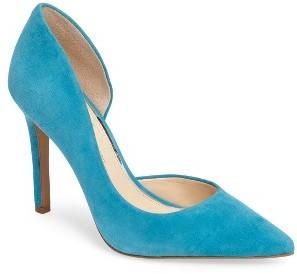 Women's Jessica Simpson 'Claudette' Half D'Orsay Pump $78.95 thestylecure.com