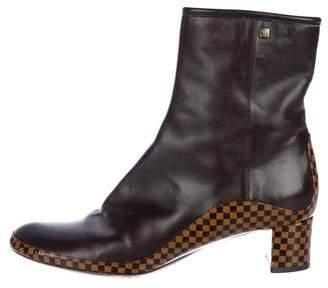 Louis Vuitton Damier Ankle Boots