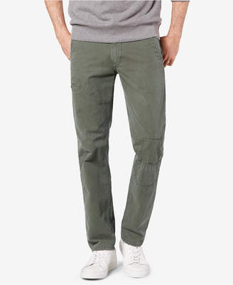 Dockers Alpha Khaki Rip & Repair Slim Fit Khaki Pants D1