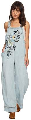Double D Ranchwear Sweet Home Overalls Women's Overalls One Piece