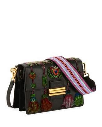 Etro B Tracolla Rainbow Soft Shoulder Bag