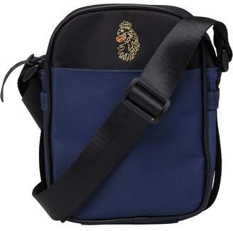 Mens Party People Cross Body Bag Lux Navy/Black