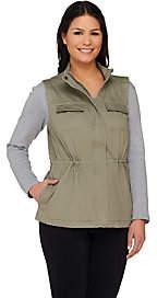 Liz Claiborne New York Four Pocket Safari Vest