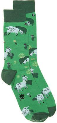 Sock It To Me Fresh Off The Goat Crew Socks - Men's