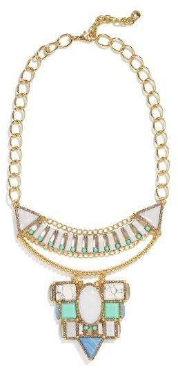 Women's Baublebar Marquessa Statement Necklace