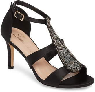 Ralph Lauren Lorraine Ritz Crystal Embellished Sandal