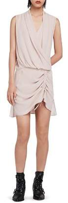 AllSaints Cathea Draped Dress