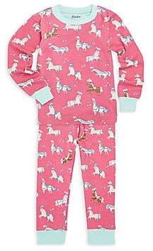 Hatley Little Girl's & Girl's Two-Piece Print Pyjamas