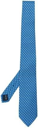 Salvatore Ferragamo duck print tie