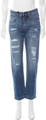 Dolce & Gabbana Mid-Rise Boyfriend Jeans w/ Tags