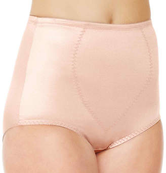 JCPenney Underscore Rainbow Stretch Satin Tummy Panel Light Control Briefs 123-3904