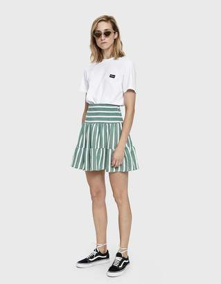 Just Female Palm Striped Skirt