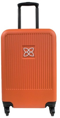 Sherpani Meridian 22-Inch Wheeled Carry-On - Orange $129 thestylecure.com