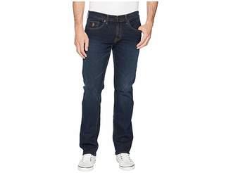 U.S. Polo Assn. Slim Straight Stretch Denim Jeans in Blue Men's Jeans