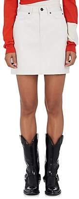CALVIN KLEIN 205W39NYC Women's Denim Miniskirt